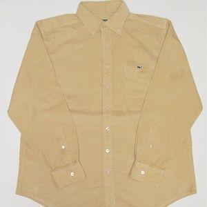 Vineyard Vines Men's Long Sleeve Corduroy Shirt